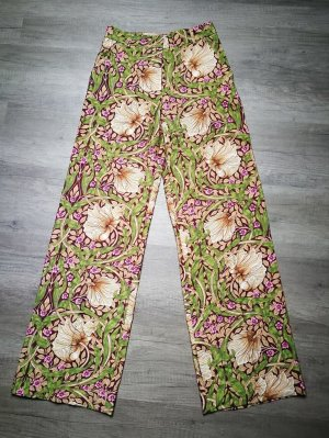 H&M Conscious Collection Marlene Trousers multicolored mixture fibre