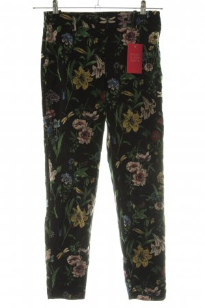 H&M Stoffhose Blumenmuster Casual-Look