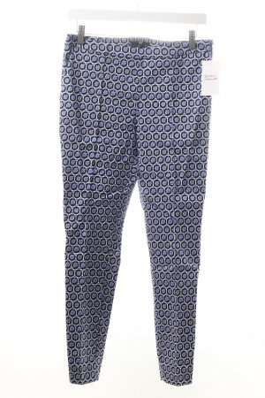 H&M Stoffhose abstraktes Muster Business-Look