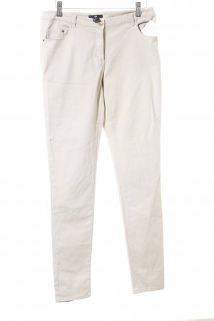 H&M Stoffhose beige klassischer Stil