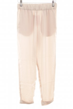H&M Stoffhose creme Casual-Look