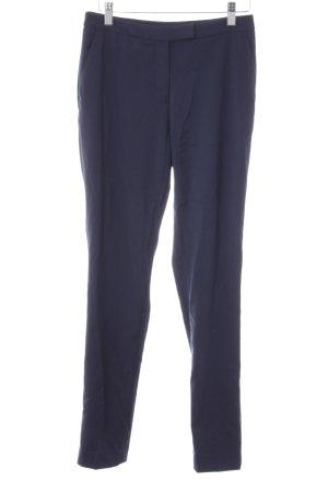 H&M Stoffhose dunkelblau Business-Look
