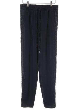 H&M Stoffhose dunkelblau Casual-Look