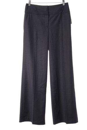H&M Stoffhose dunkelblau meliert Elegant