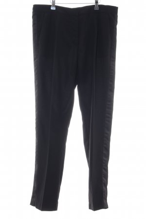 H&M Stoffhose schwarz Business-Look