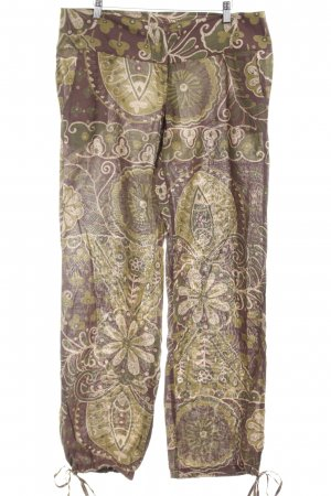 H&M Stoffhose florales Muster