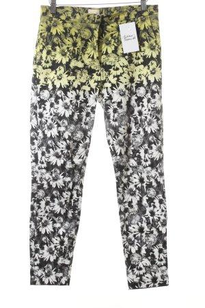 H&M Stoffhose florales Muster extravaganter Stil