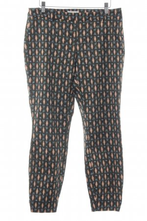 H&M Stoffhose grafisches Muster Casual-Look