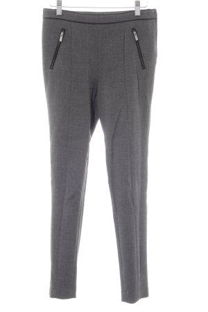 H&M Stoffhose grau-schwarz meliert Elegant