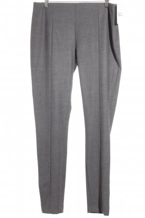H&M Stoffhose grau-wollweiß Business-Look