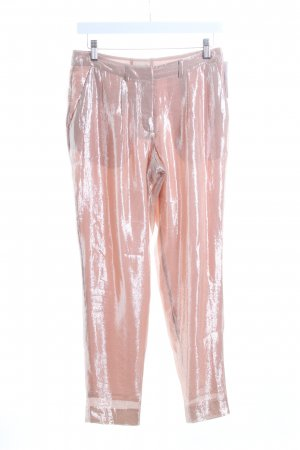 H&M Stoffhose nude-rosé Glitzer-Optik
