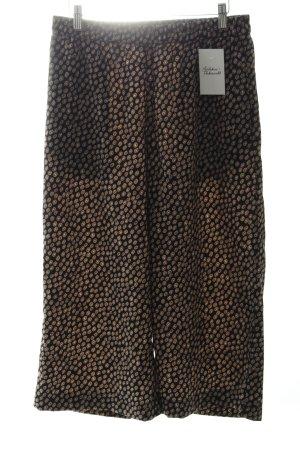 H&M Stoffhose schwarz-hellrosa klassischer Stil