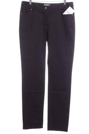 H&M Jeans coupe-droite rouge mûre style décontracté