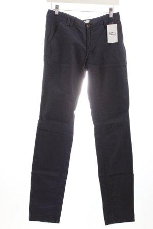 H&M Straight-Leg Jeans dunkelblau Casual-Look
