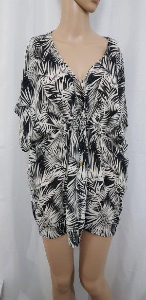 H&M Blusa ancha negro