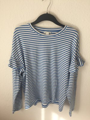 H&M Streifen Shirt mit Volants