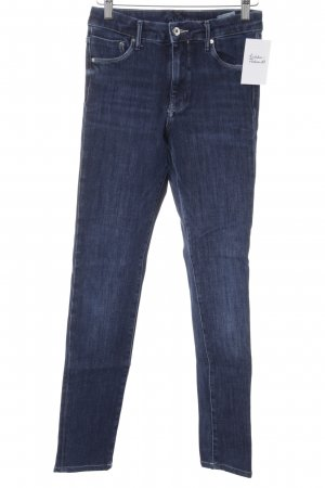 H&M Stretch Jeans blau Casual-Look