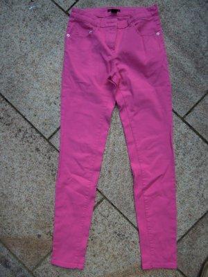 H&M Stretch Jeans Gr. 34 Pink NEU