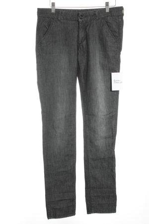 H&M Stretch Jeans grau klassischer Stil
