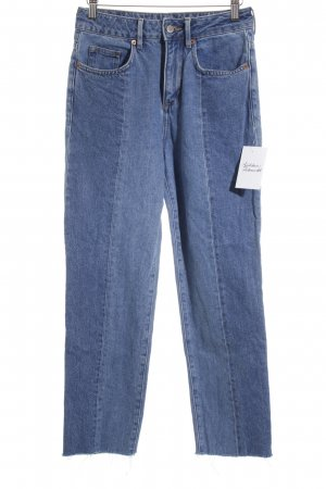 H&M Stretch Jeans graublau Street-Fashion-Look
