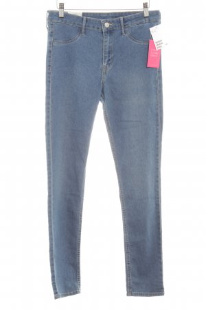 H&M Stretch Jeans hellblau Jeans-Optik