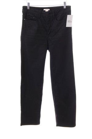 H&M Stretch Jeans schwarz Jeans-Optik