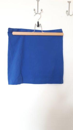 H&M Jupe stretch bleu