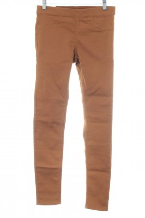 H&M Stretchhose braun Casual-Look