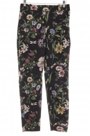 H&M Stretch Trousers floral pattern romantic style
