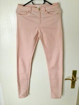 H&M Stretch Trousers pink mixture fibre