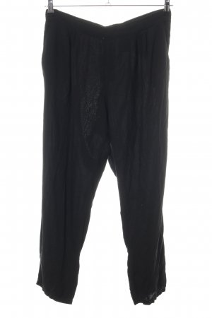 H&M Stretch Trousers black casual look