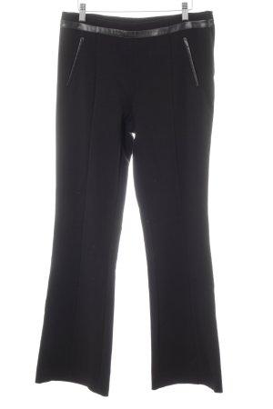 H&M Stretchhose schwarz schlichter Stil