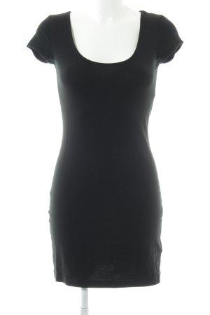H&M Stretch jurk zwart casual uitstraling