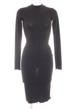 H&M Stretch jurk zwart elegant