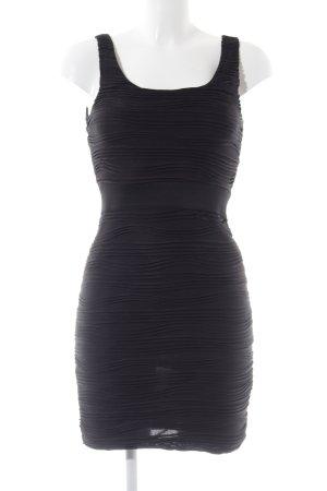 H&M Stretch Dress black casual look