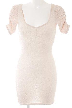 H&M Stretchkleid creme Casual-Look