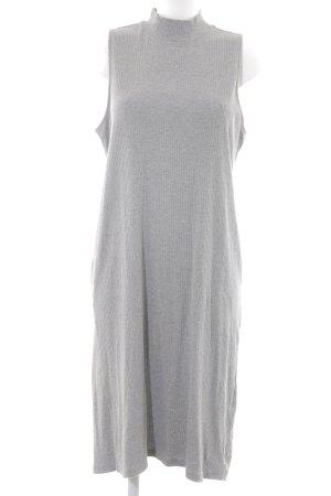 H&M Stretchkleid grau schlichter Stil