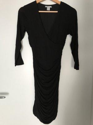 H&M Stretchkleid in schwarz