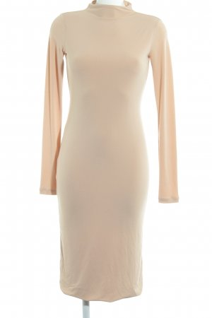 H&M Stretch Dress nude simple style