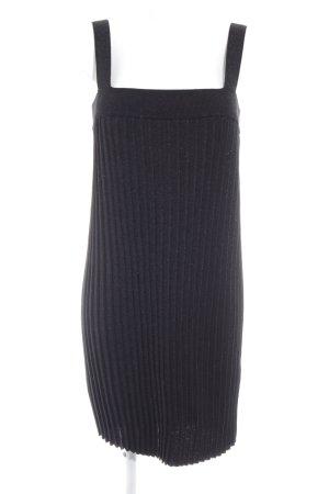 H&M Vestido elástico negro look casual