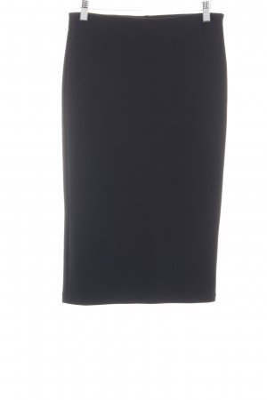 H&M Stretch Skirt black business style