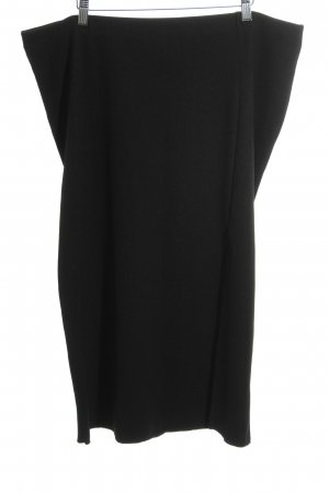 H&M Stretchrock schwarz Casual-Look