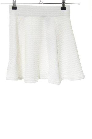 H&M Stretchrock weiß Casual-Look
