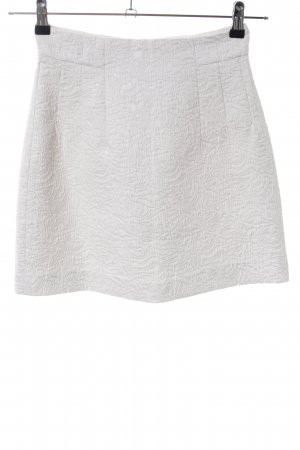 H&M Stretch Skirt white casual look
