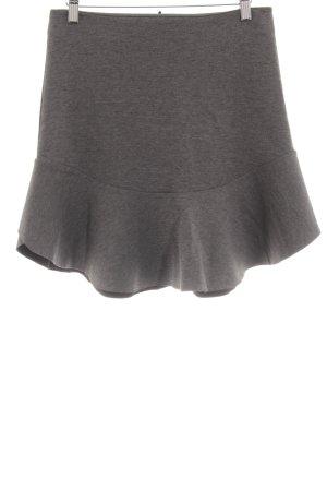 H&M Falda stretch gris-negro look casual