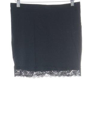 H&M Stretchrock schwarz Elegant