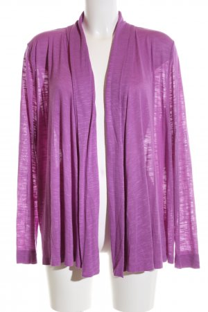 H&M Strick Cardigan pink meliert Casual-Look