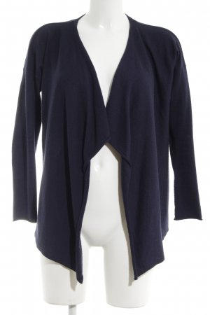 H&M Strick Cardigan blau Business-Look