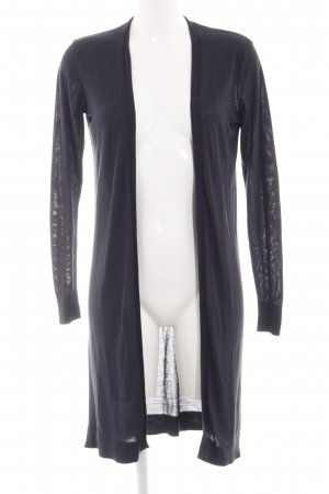 H&M Strick Cardigan hellgrau Casual-Look