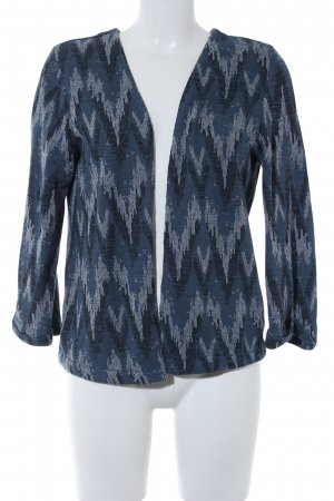 H&M Strick Cardigan Zackenmuster Casual-Look